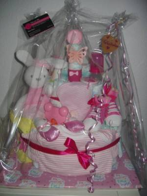 Gateau Pampers Idee Cadeau Pour Naissance Baby Shower Et