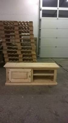 meuble tv en palette annonce 2857238. Black Bedroom Furniture Sets. Home Design Ideas